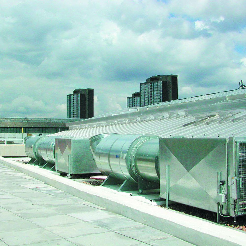 Smoke Ventilation Roof - Silver Group