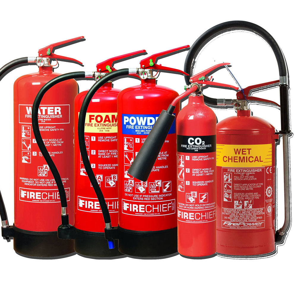 Fire Extinguisher Types 1 – Silver Group