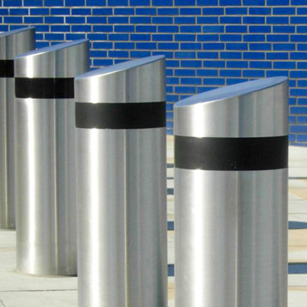 Automatic Rising Bollards 1 – Silver Group