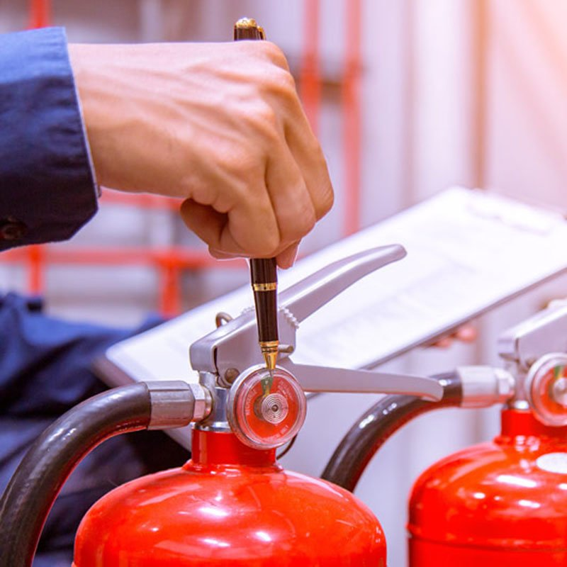 Fire Extinguisher Maintenance 1 – Silver Group