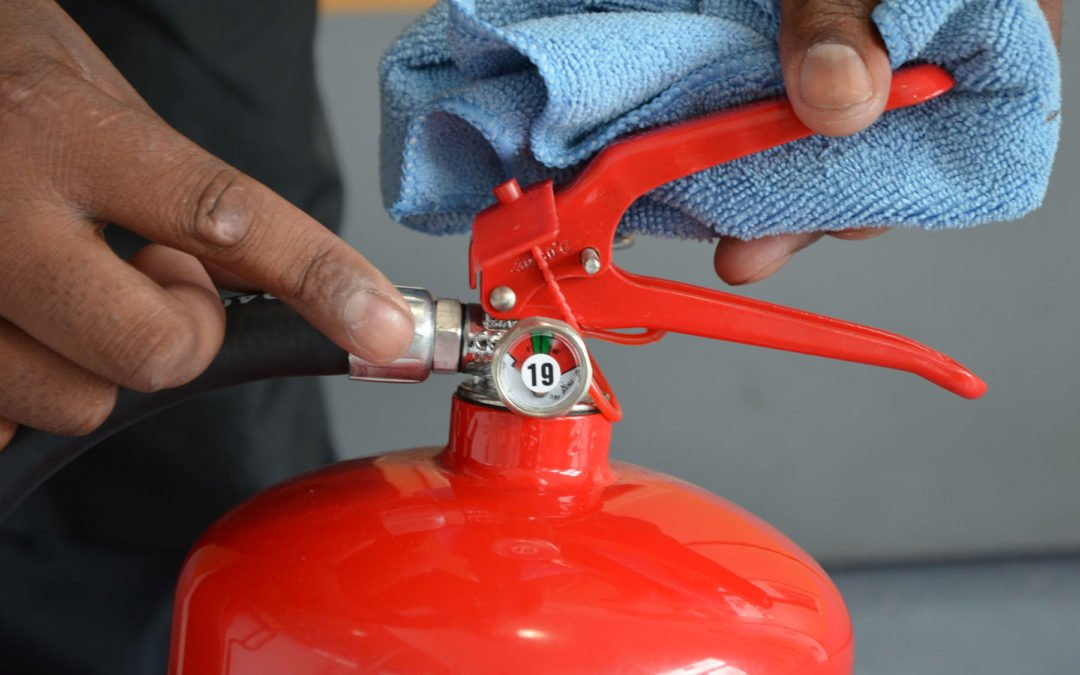 Fire extinguisher servicing helps maintain your life saving equipment